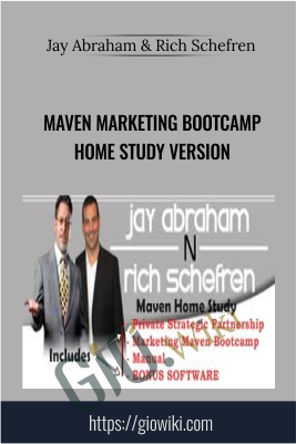 Maven Marketing Bootcamp Home Study Version – Jay Abraham & Rich Schefren
