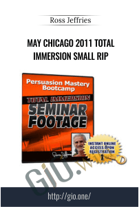 May Chicago 2011 Total Immersion Small RIP – Ross Jeffries