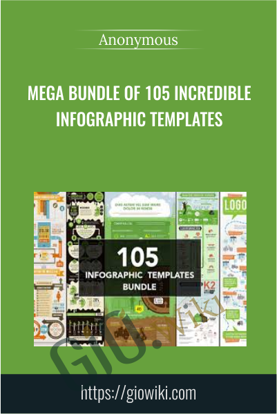 Mega Bundle of 105 Incredible Infographic Templates