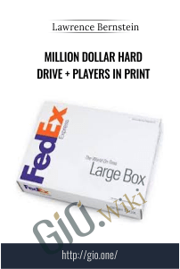 Million Dollar Hard Drive + Players in Print – Lawrence Bernstein