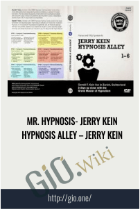 Mr. Hypnosis- Jerry Kein Hypnosis Alley – Jerry Kein