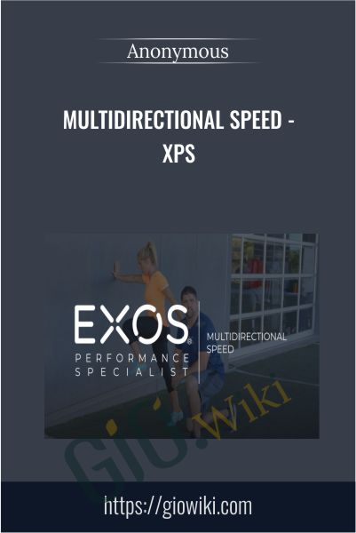 Multidirectional Speed - XPS