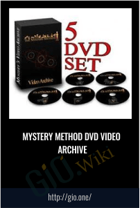 Mystery Method DVD Video Archive