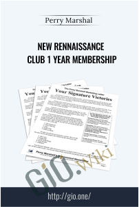 New Rennaissance Club 1 Year Membership – Perry Marshal