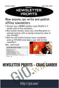 Newsletter Profits – Craig Garber