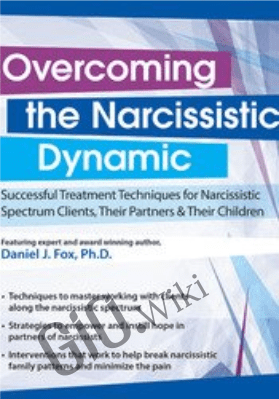 Overcoming the Narcissistic Dynamic: Successful Treatment Techniques for Narcissistic Spectrum Clients, Their Partners and Their Children - Daniel J. Fox