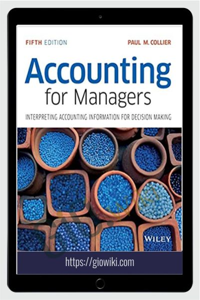 Accounting For Managers – Paul Collier