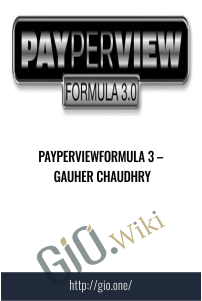 PayPerViewFormula 3 – Gauher Chaudhry