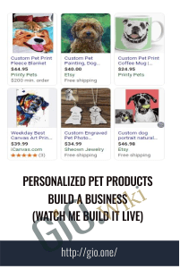 Personalized Pet Products Build A Business (Watch Me Build It LIVE) - Cener Mastermind