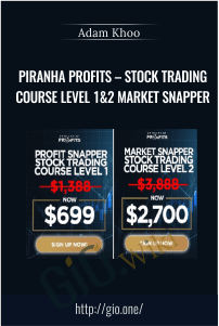 Piranha Profits – Stock Trading Course Level 1&2 Market Snapper – Adam Khoo