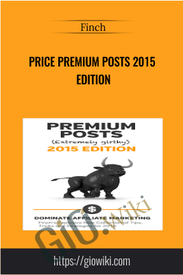 Price Premium Posts 2015 Edition – Finch
