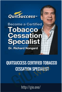 QuitSuccess Certified Tobacco Cessation Specialist