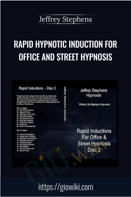 Rapid Hypnotic Induction for Office and Street Hypnosis - Jeffrey Stephens