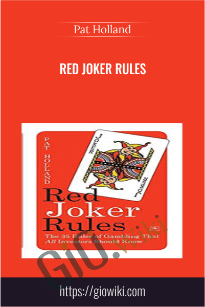 Red Joker Rules - Pat Holland