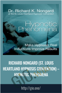 Hypnotic Phenomena - Richard Nongard (St. Louis Heartland Hypnosis Convention)