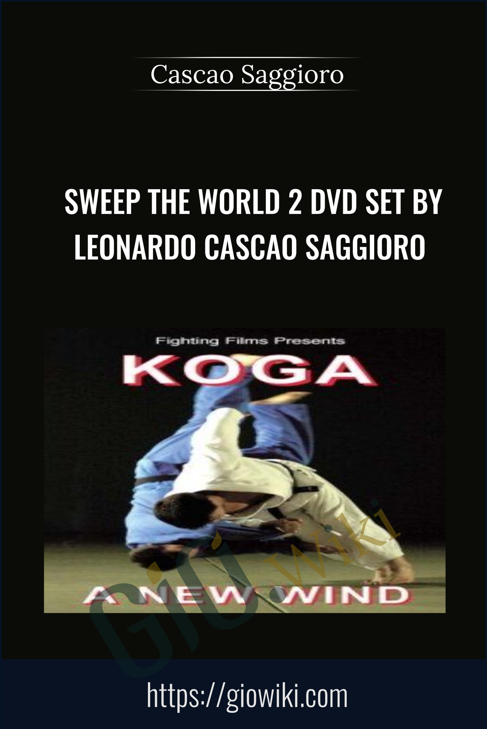 Sweep The World 2 Dvd Set - Leonardo Cascao Saggioro