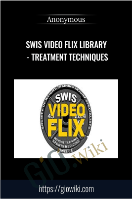 SWIS Video Flix Library - Treatment Techniques