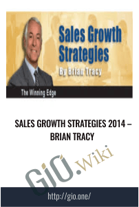 Sales Growth Strategies 2014 – Brian Tracy