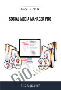Social Media Manager Pro – Kate Buck Jr.