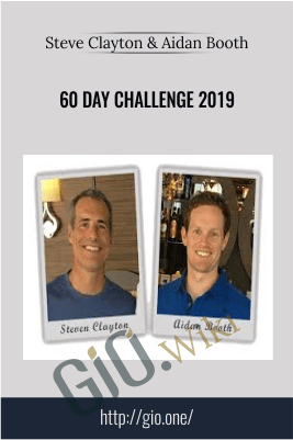 60 Day Challenge 2019 – Steve Clayton & Aidan Booth
