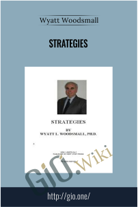 Strategies – Wyatt Woodsmall