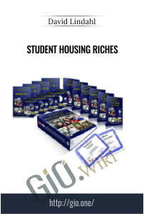 Student Housing Riches – David Lindahl