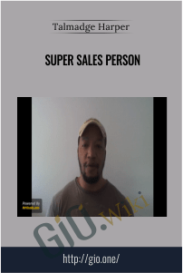 Super Sales Person – Talmadge Harper