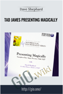 Tad James Presenting Magically – Dave Shephard