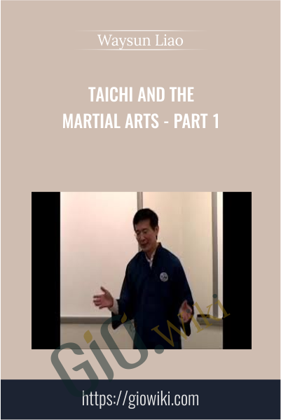 Taichi and the Martial Arts - Part 1 - Waysun Liao
