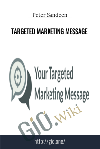 Targeted Marketing Message – Peter Sandeen
