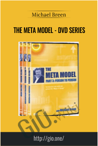 The Meta Model - DVD Series - Michael Breen