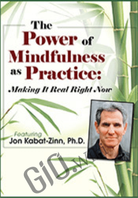 The Power of Mindfulness as Practice: Making It Real Right Now with Jon Kabat-Zinn - Jon Kabat-Zinn