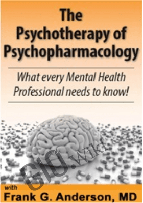 The Psychotherapy of Psychopharmacology: What every Mental Health Professional needs to know! - Frank G. Anderson