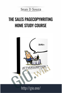 The Sales PageCopywriting Home Study Course – Sean D Souza
