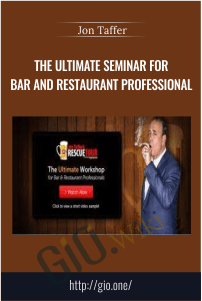 The Ultimate Seminar For Bar And Restaurant Professional – Jon Taffer
