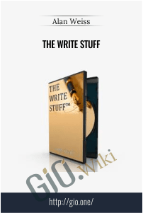 The Write Stuff - Alan Weiss