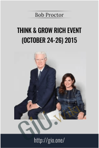 Think & Grow Rich Event (October 24-26) 2015 – Bob Proctor