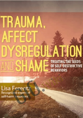 Trauma, Affect Dysregulation and Shame: Treating the Seeds of Self-Destructive Behaviors - Lisa Ferentz