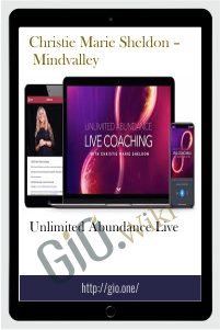 Unlimited Abundance Live – Christie Marie Sheldon