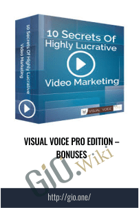 Visual Voice Pro Edition – Bonuses