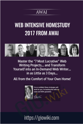 Web Intensive Homestudy 2017 from AWAI