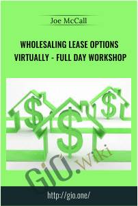 Wholesaling Lease Options Virtually - Full Day Workshop