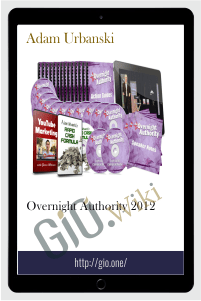 Overnight Authority 2012 – Adam Urbanski
