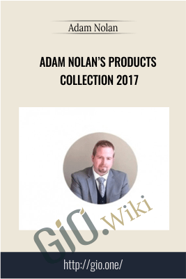 Adam Nolan's Products Collection 2017