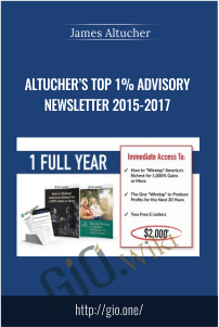 Altucher's Top 1% Advisory Newsletter 2015-2017 – James Altucher