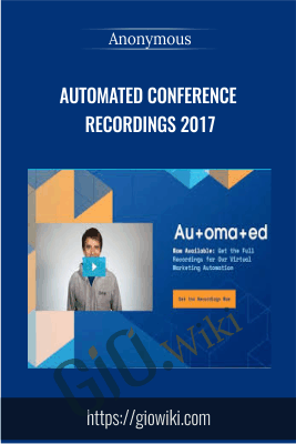 Automated Conference Recordings 2017 - Anonymous