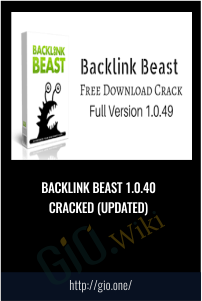 Backlink Beast 1.0.40 Cracked (UPDATED)