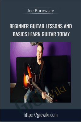 Beginner Guitar Lessons and Basics: Learn Guitar Today - Joe Borowsky