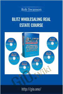 Blitz Wholesaling Real Estate Course – Rob Swanson