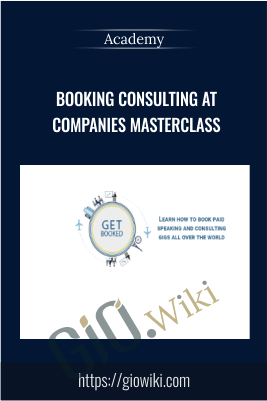 Booking Consulting at Companies Masterclass – Academy
